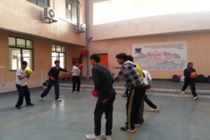Usha Martin World School-Indoor Games
