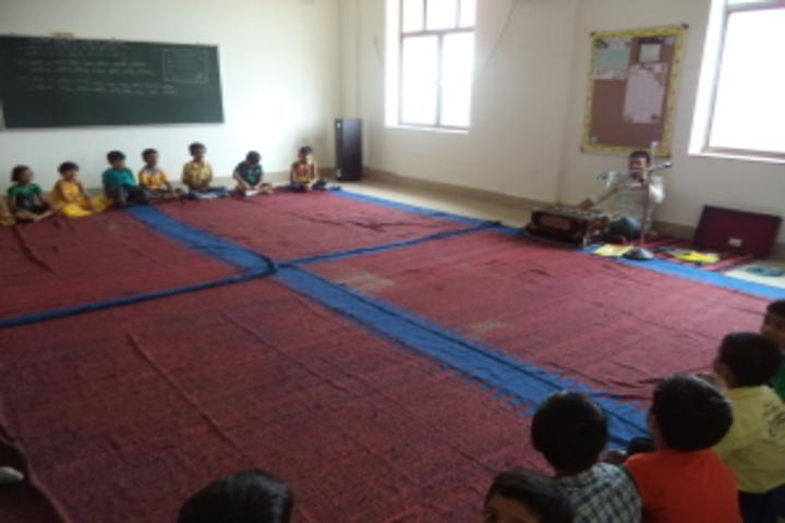 Usha Martin World School-Music Room