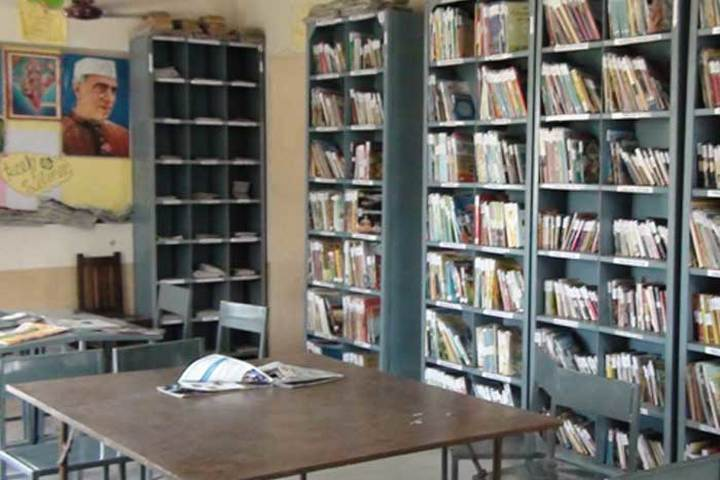 New Kingston Senior Secondary School-Library