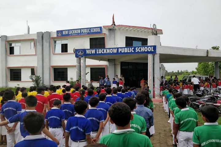 New Lucknow Public School-Assembly