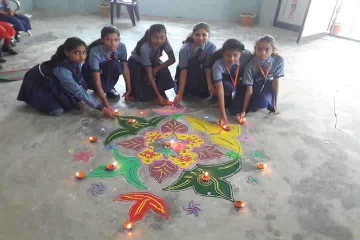 New Lucknow Public School-Diwali Celebrations