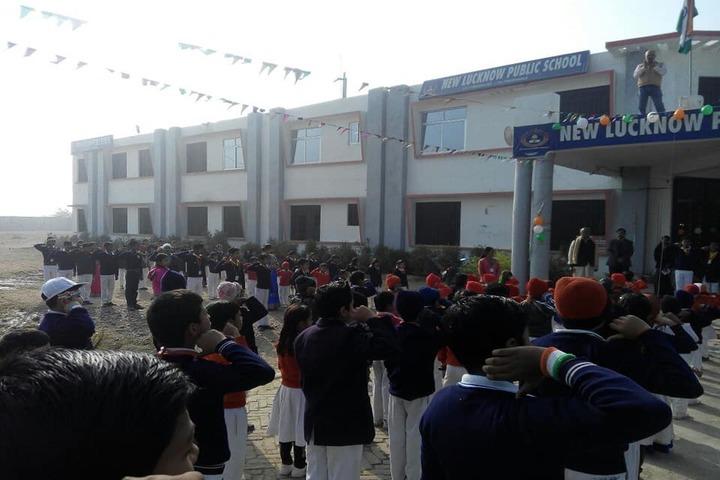New Lucknow Public School-Republic Day Celebrations