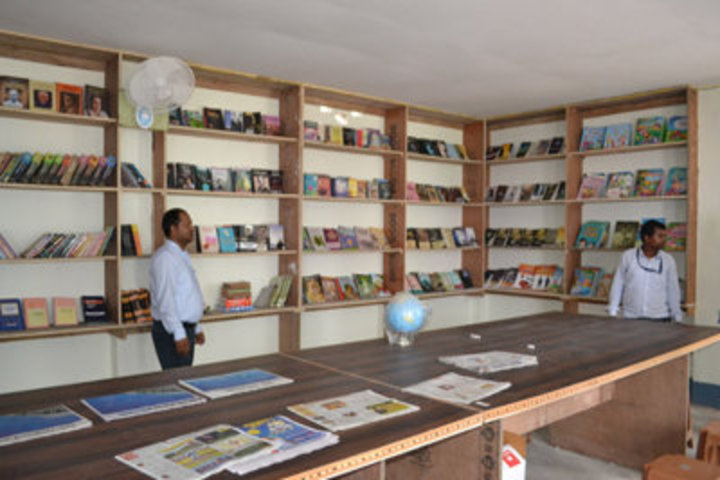 Vaishali Central Public School-Library