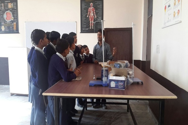 New St Stephen Public School Unit III-Biology lab