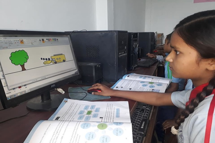 New St Stephen Public School Unit III-Computer lab