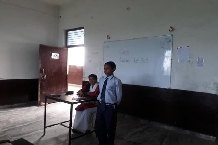New St Stephen Public School Unit III-Story telling