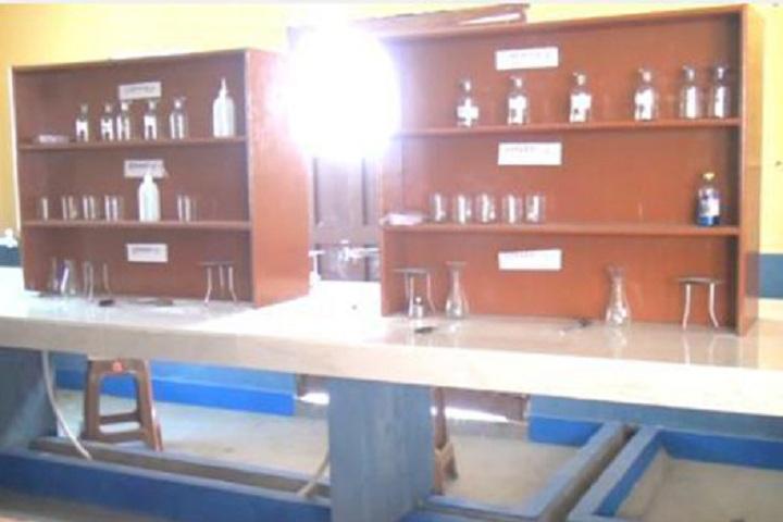 Nidhi Ideal School-Chemistry Lab