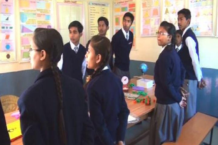 Nidhi Ideal School-Science Lab