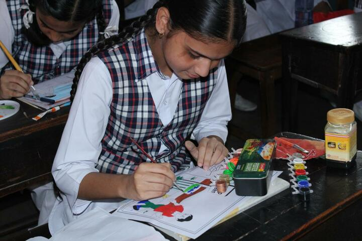 Nirmala Convent High School-Drawing Competition