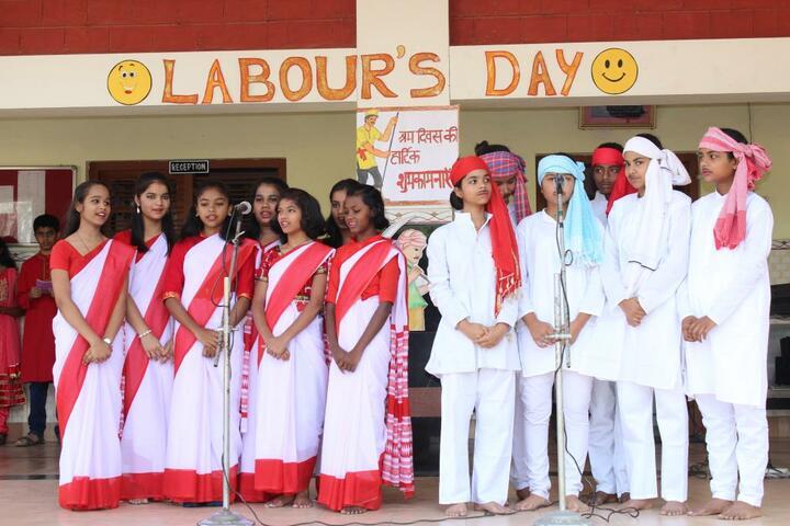 Nirmala Convent High School-May Day Celebration
