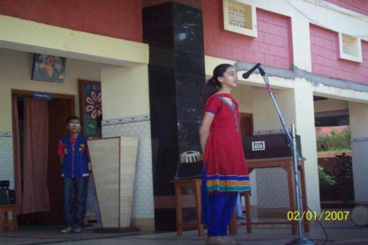 Nirmala Convent High School-Singing Competition