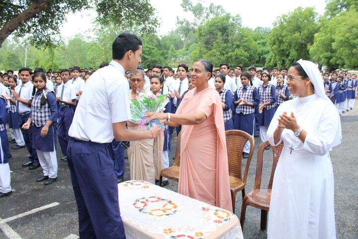 Nirmala Convent High School-Sr Lucys Welcome