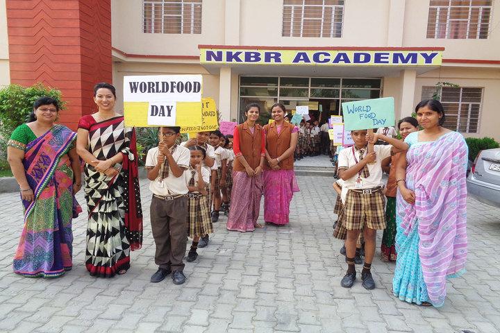 Nkbr Academy-World Food Day Celebrations