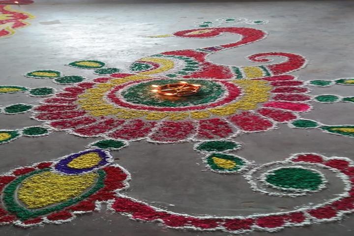 Vidya Bharati-Rangoli