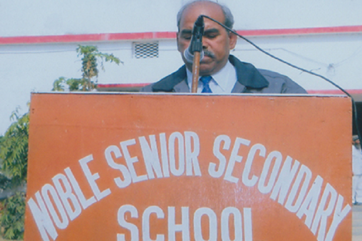 Noble Senior Secondary School-Speech