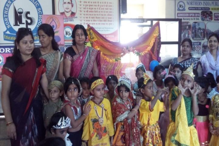 Northern India Public School-Janmashtami Celebration