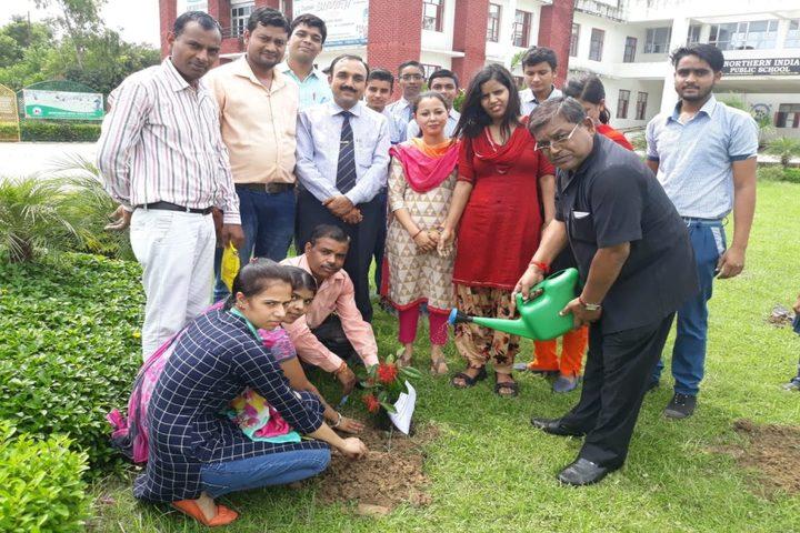 Northern India Public School-Tree Plantation