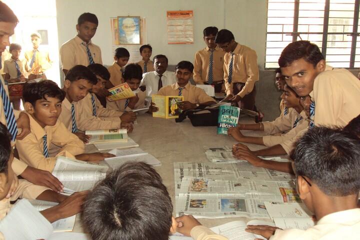 Vidya Jyoti School-Library