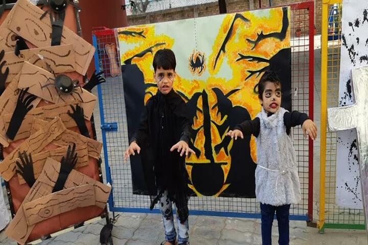 Nurture International School-Halloween Day