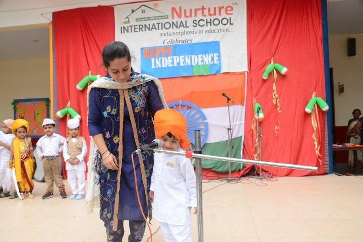 Nurture International School-Independence Day Celebrations