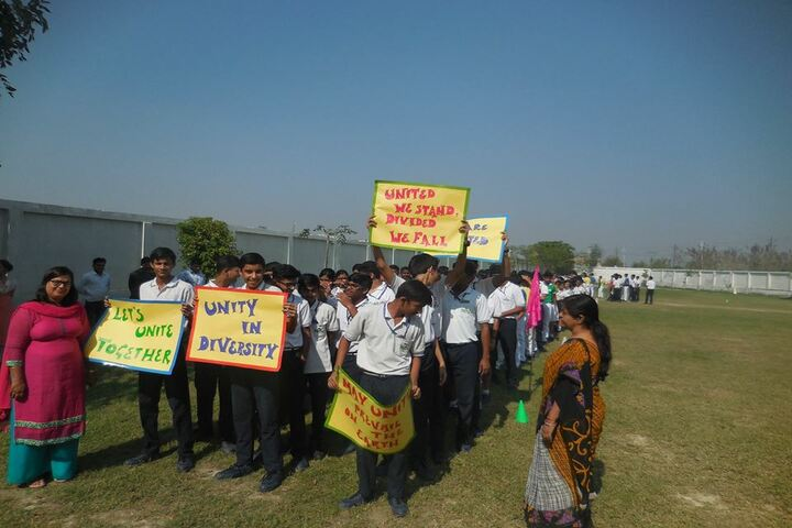 Nurture International School-Natioanl Unity Day