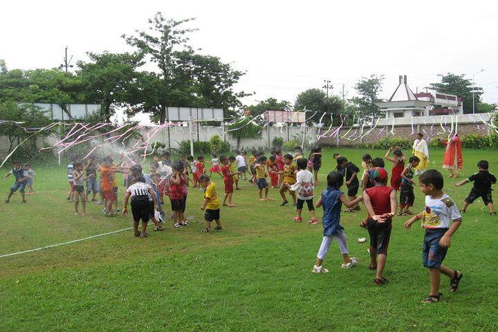 Nurture International School-Rain Activity