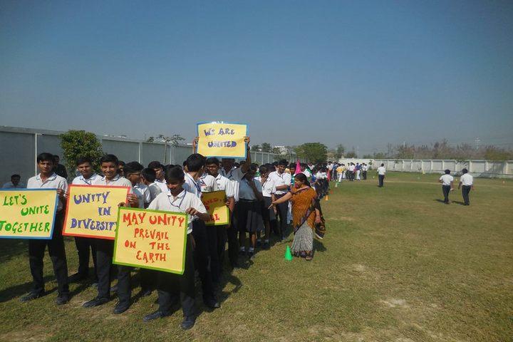 Nurture International School-Unity Rally