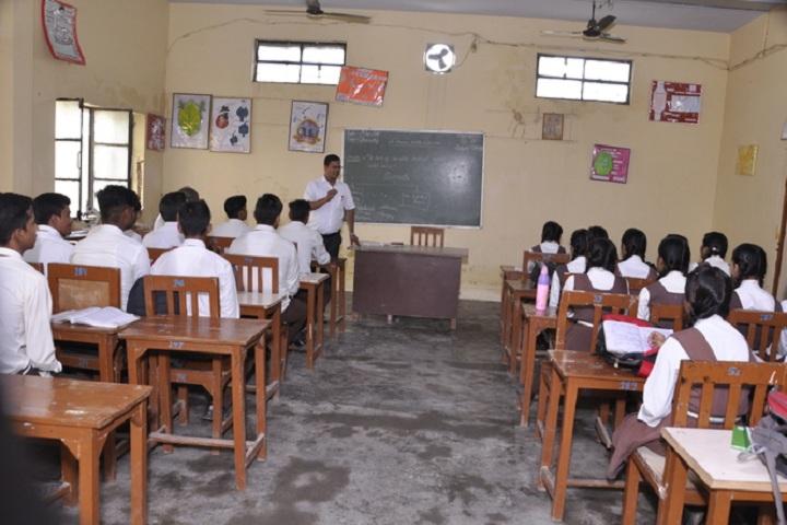Om Prakash Ganapati Memorial School - Biology lab