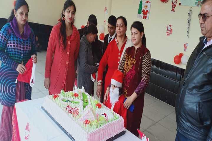 Om Prakash Ganapati Memorial School - Christmas celebration