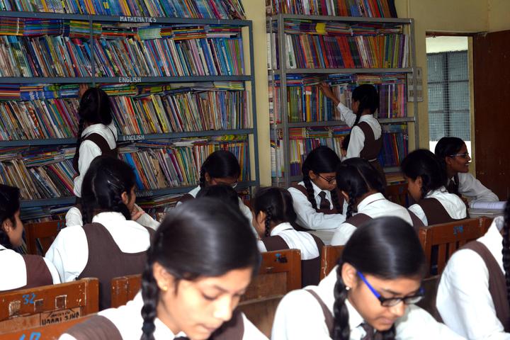 Om Prakash Ganapati Memorial School - Library
