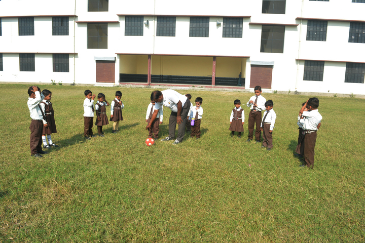 Om Prakash Ganapati Memorial School - Play ground