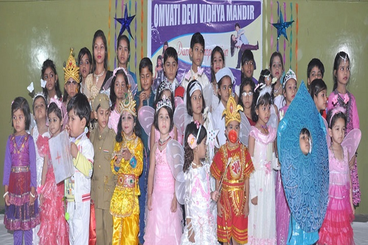 Omvati Devi Vidhya Mandir-Fancy Dress Competition