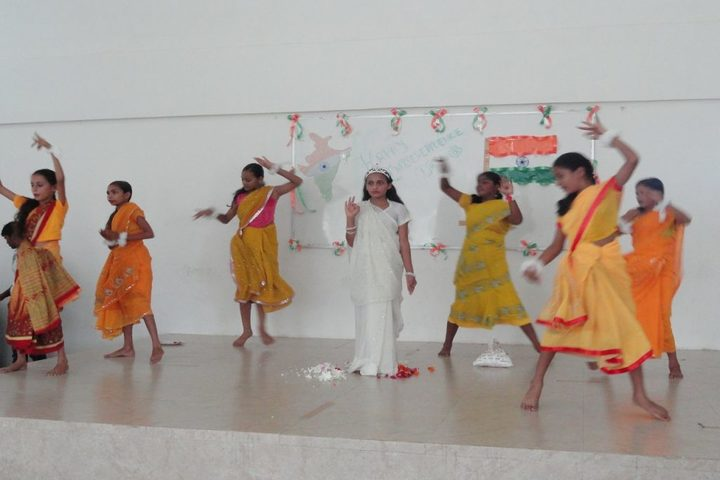 Ongc Community School-Independence Day Celebrations