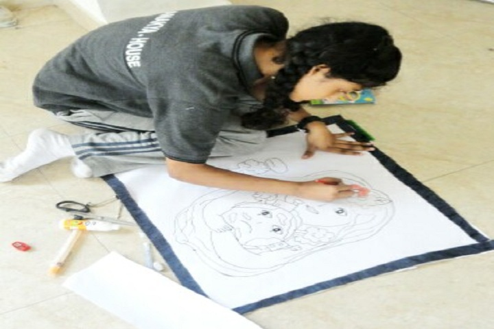 Ongc Community School-Drawing Competition
