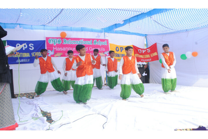 Ops International School-Independence Day Celebrations