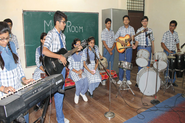 P M S Public School-Music room
