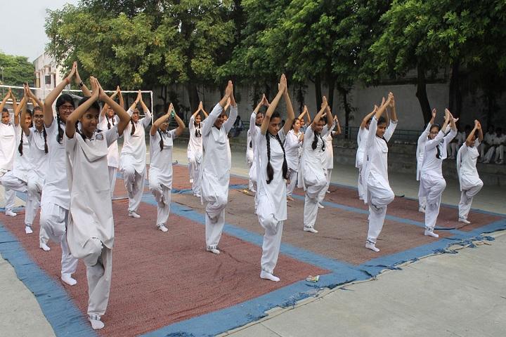 P M S Public School-Yoga
