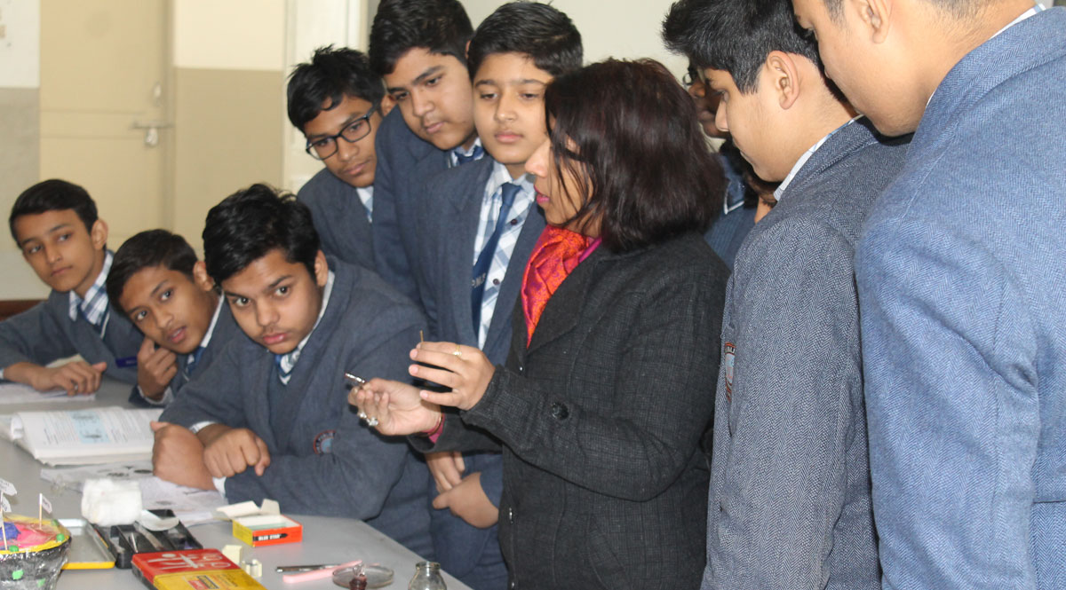 P M S Public School-Science Lab