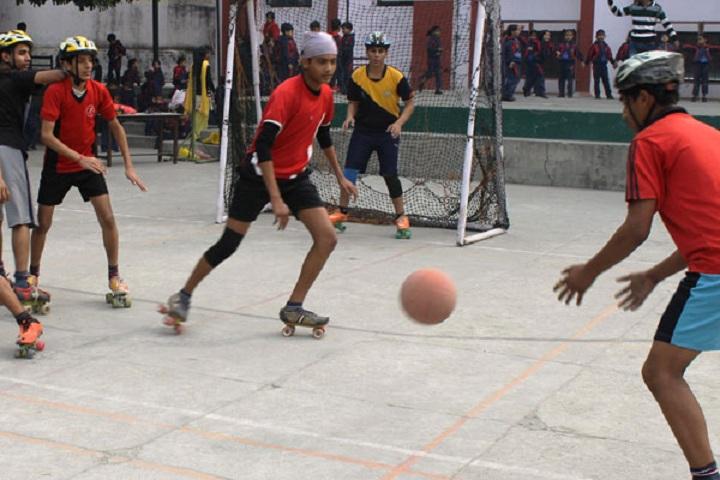 P M S Public School-Sports