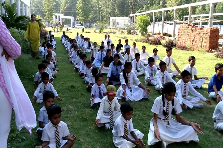 P N National Public School-Yoga Activity