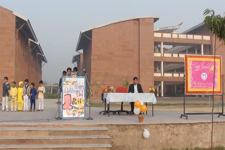 Panchsheel Balak Inter College-Children day