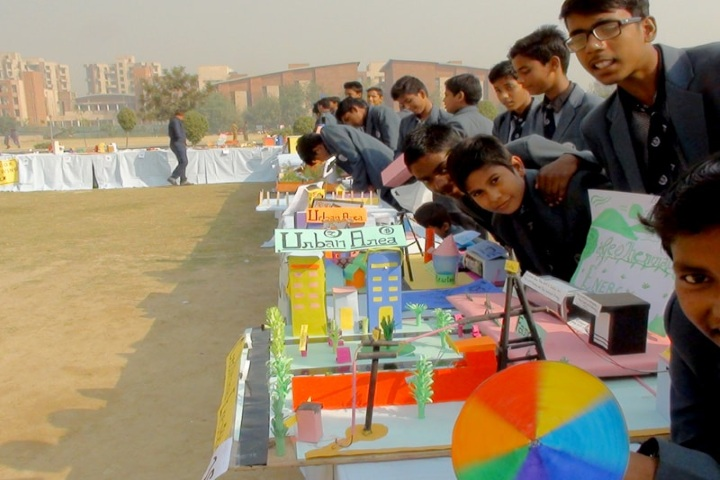Panchsheel Balak Inter College-Science Exhibition