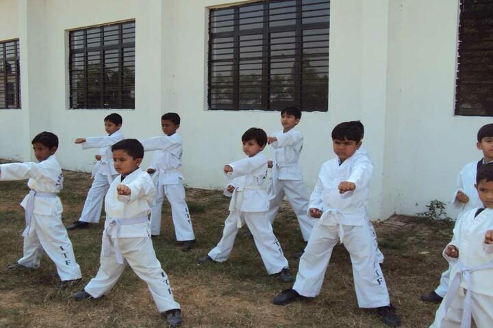 Param Public School-Karate