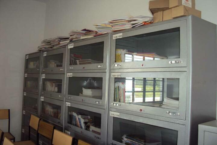 Param Public School-Library