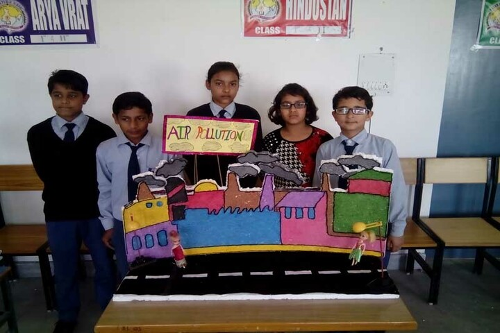 Param Public School-Model making competition