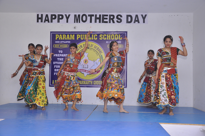 Param Public School-Mothers day celebrations