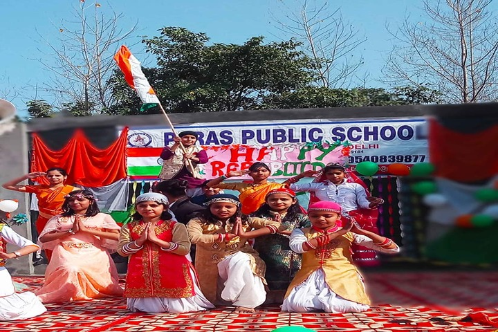 Paras Public School-Republic Day Celebrations