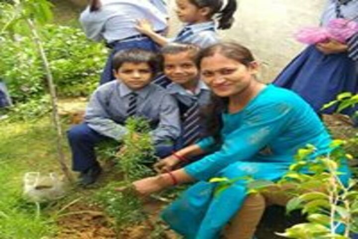 Paras Public School-Tree Plantation