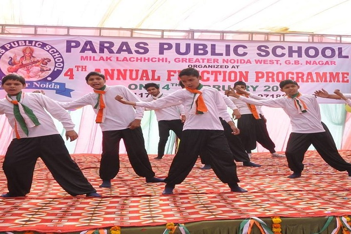 Paras Public School-Annual Function