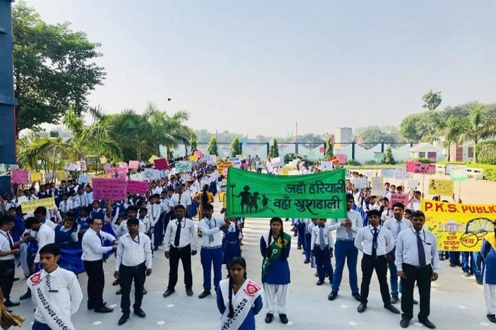 Parvez Khan Sajida Public School - Rally